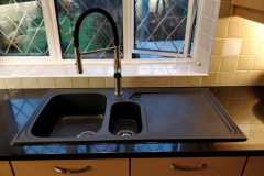 New kitchen sink installations