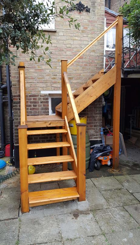 Garden Stairwell